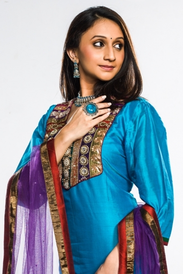 Blue Salwar Set