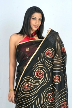 Silk Cotton Black