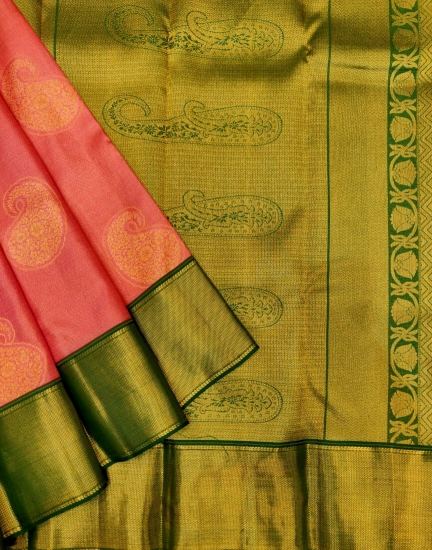 Pure Ahmisa Silk Saree