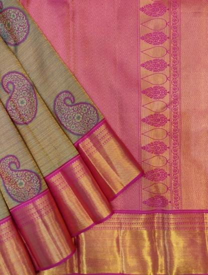 wedding joaked woven saree
