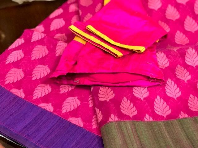 Banaras Silk Cotton Woven Saree