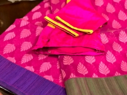 Banaras Silk Cotton Woven Saree