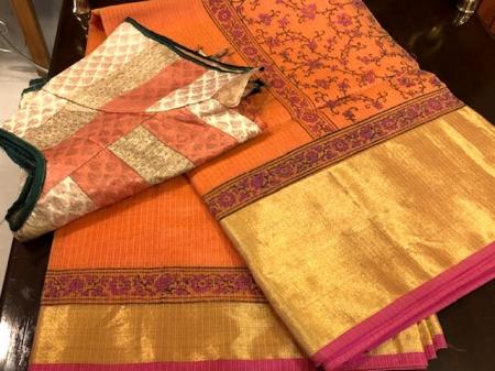 Manipoori  Cotta Silk