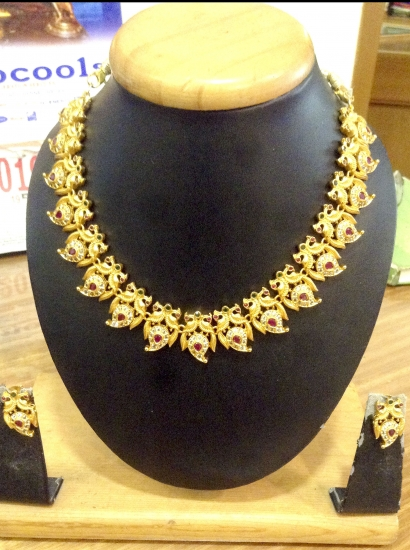 Gold With Stone set