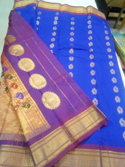 Paithani Ahimsa silk saree