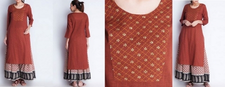 SR-L KURTA RED