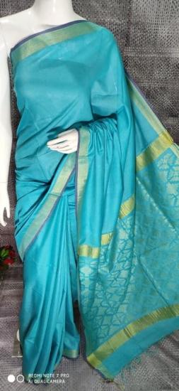 Blended Lilol Silk Cotton Saree