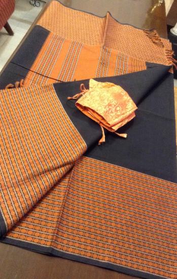 1000 buttas cotton saree with blouse