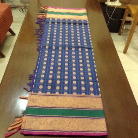 1000 buttas cotton saree & blouse
