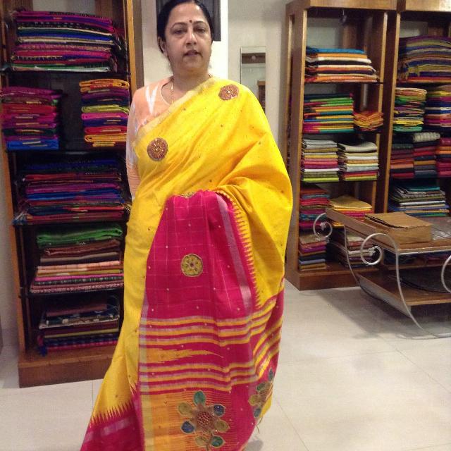 Ahimsa Mulberry  silk saree