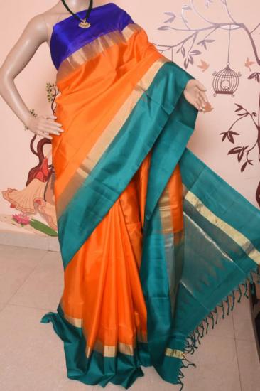 Ahimsa soft  silk saree