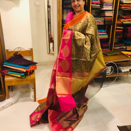 Banaras silks saree