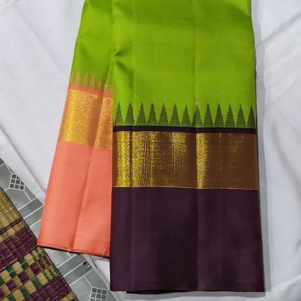 Ahimsa silk saree